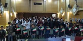 مشارکت اعضامرکز شماره چهار کانون کرج در برگزاری مراسم ویژه پیروزی انقلاب