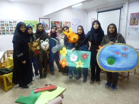 حضور کودکان کمیته امداد و بهزیستی در جشنواره بازیهای ایرانی- اسلامی مرکز تایباد