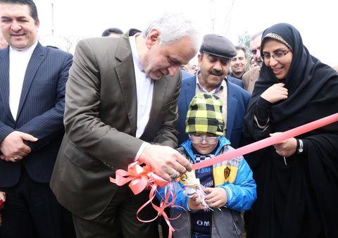 افتتاحیه پارک مادر و کودک