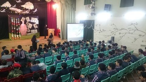 برنامه دهه فجر در مرکز فرهنگیهنری شماره 3 کانون زنجان