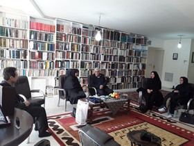 مدیرکل کانون استان کرمانشاه با چهره های بنام فرهنگی استان دیدار می کند
