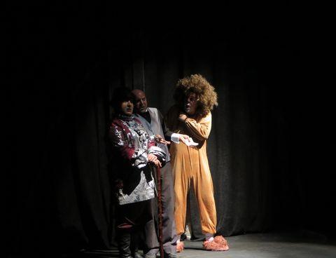 گزارش تصویری استقبال از نمایش«لافکادیو» در کانون استان قزوین