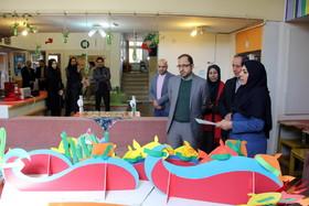 بازدید مدیر عامل کانون از مراکز ۲۲ و ۴۴ تهران