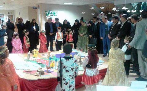جشنواره هویت ملی کودکان ایرانی و اسلامی در  ناحیه 2 شیراز برگزار شد
