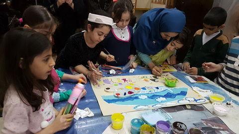 """ویژه برنامه """"به رنگ انقلاب"""" در مرکز۳۰ کانون تهران"""