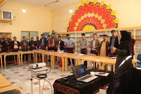 """کارگاه آموزشی """" کار، اخلاق، ضوابط اداری """" در کانون پرورش فکری سیستان و بلوچستان برگزار شد"""