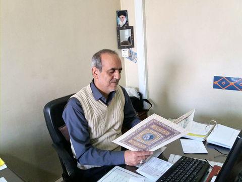 تجلیل مدیر ستاد اقامه نماز البرز ازدبیر شورای اقامه نماز کانون