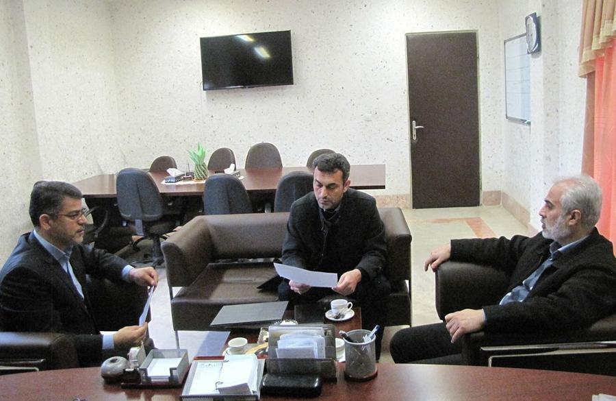 معارفه مهدی علیانینژاد به عنوان فرمانده پایگاه بسیج شهید محمدآقایی نژاد کانون پرورش فکری گلستان