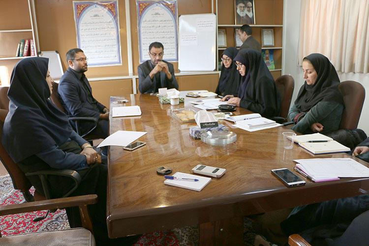 جلسهی شورای فرهنگی، هنری و ادبی کانون پرورش فکری استان سمنان