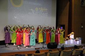 آیین افتتاحیه جشنواره سرود خوانی اعضای مراکز
