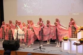 نگاهی به اولین روز جشنواره سرود خوانی کانون استان تهران