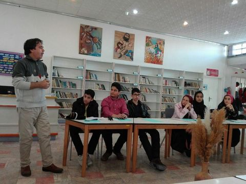 سومین انجمن ادبی مهتاب در چناران