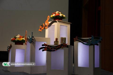 نگاهی به پشت صحنه ی جشنواره سرود استان تهران / عکس از مهدیه یکه خانی
