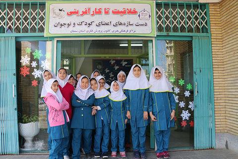 گزارش تصویری از آیین گشایش نمایشگاه خلاقیت تا کارآفرینی در سمنان