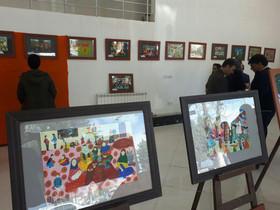 نمایشگاه نقاشی اعضای کانون استان اردبیل