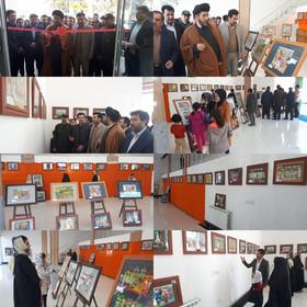 نمایشگاه نقاشی اعضای کانون استان اردبیل با عنوان «یوردومون شنلیک لری» گشایش یافت