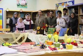 بازدید مدیر کل از بازارچه خیریه مرکز شماره 43