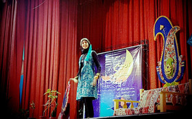 رقابت قصهگویان در جشنواره قصهگویی استانی در کرمانشاه