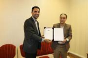 تجلیل از مدیرکل کانون پرورش فکری استان سمنان