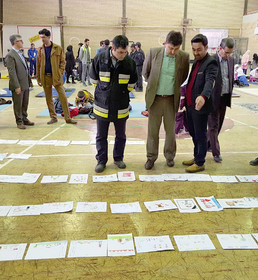 مسابقه نقاشی با موضوع تحریم ترقه، تکریم سنت و امضای میثاق نامه
