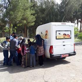 کتابخانه سیار کانون در استان  سیستان و بلوچستان