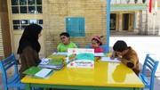 ایستگاه نوروزی کانون قزوین برای بچه ها