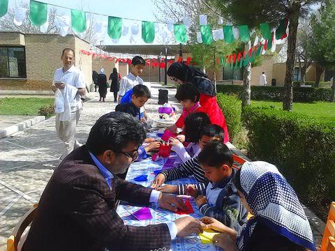 اجرای طرح «عیدانه» در مرکز فرهنگی هنری شماره 9مشهد