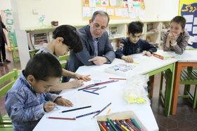 بازدید مدیرکل از طرح عیدانه مراکز شماره ۶ و ۱۸ کانون تهران
