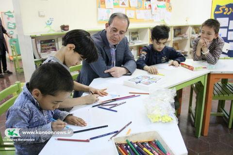 بازدید مدیرکل از فوقبرنامه طرح عیدانه مرکز شماره 6 کانون تهران / عکس از یونس بنامولایی
