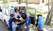 فعالیت کتابخانه های سیار کانون آذربایجان شرقی در روز طبیعت