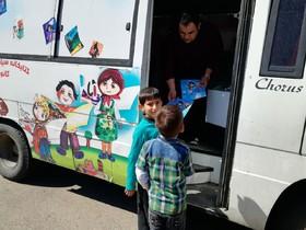 کتابخانههای سیار کانون پرورش فکری کودکان و نوجوانان استان آذربایجان شرقی همراه کودکان و نوجوانان در روز طبیعت