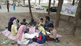 کتابخانه سیار کانون در استان خراسان جنوبی