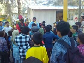 کتابخانه سیار کانون در استان کرمان