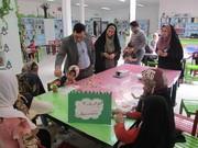 بازدید معاون آموزشی آموزش و پرورش درمیان از اجرای طرح عیدانه کانون