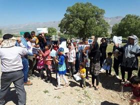 کتابخانه سیار کانون در استان ایلام