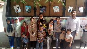 کتابخانه سیار کانون در استان یزد
