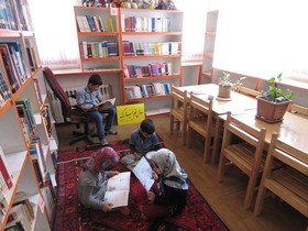 مرکز فرهنگی هنری سریش آباد در ایام تعطیلات