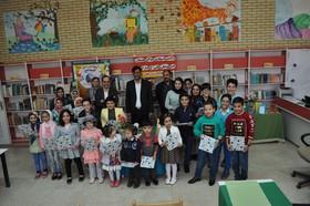 حضور پر خیر برکت دکتر فاضل نظری مدیر عامل کانون پرورش فکری کودکان و نوجوانان در طرح عیدانه کتاب کانون در زنجان