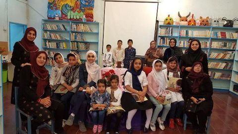 عیدانه کتاب در مراکز کانون کرمان