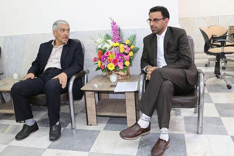 دیدار مدیرکل کانون پرورش فکری استان سمنان با نماینده مجلس