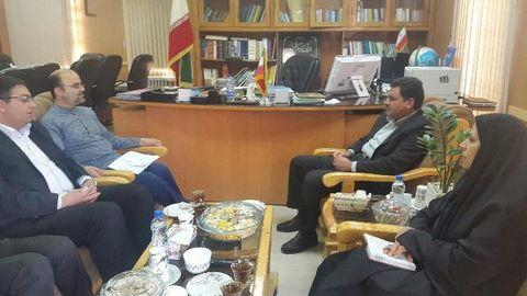 دیدار مدیرکل کانون با فرماندار کرمان