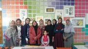 حضور انسیه شاه حسینی در مرکز سامان