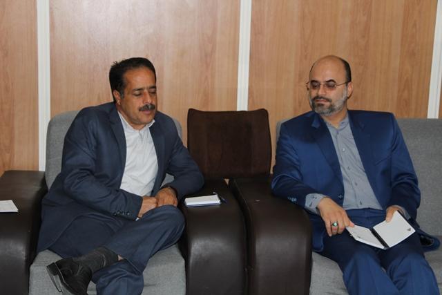 دیدار مدیرکل کانون کرمان با فرماندار شهربابک