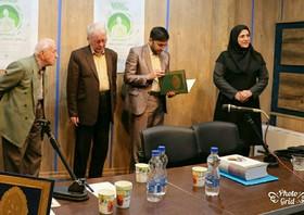 تقدیر از مربی ادبی کانون استان قزوین