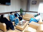 دیدار مدیر کل کانون مازندران با فرماندار و امام جمعه سیمرغ