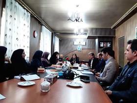جلسه شضورای فرهنگی کانون استان کرمانشاه