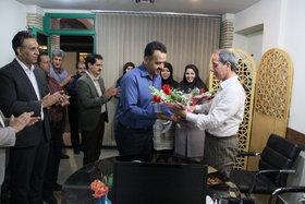تجلیل از همکاران جانباز و ایثارگر کانون تهران به مناسبت روز جانباز