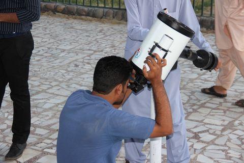ویژه برنامهی علمی ترویجی بزرگداشت روز جهانی نجوم در کانون پرورش فکری سیستان و بلوچستان