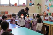 کودکان پیشدبستانی اولین میهمانان  بهاری کانون پرورش فکری گالیکش