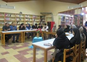 انجمن ادبی «ماهقلم» با حضور علی جهانگیری در مرکز شماره یک کانون گرگان برگزار شد